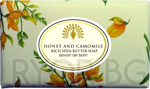 "Сапун  Honey & Camomile ""Мед и Лайка"" винтидж 200g"